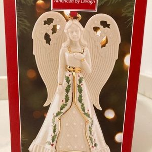Lenox christmas angel ornament/decor